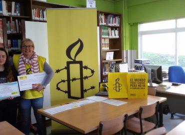 Entrega gañadoras concurso relatos acoso de Coruña