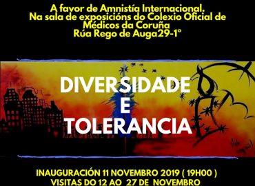 Exposición Diversidade e tolerancia