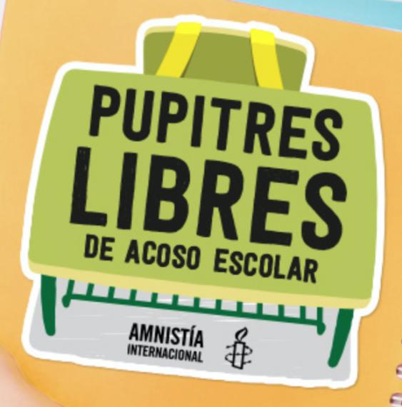 Campaña Pupitres Libres de Acoso Escolar