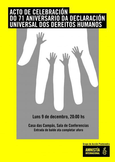 Lectura da Declaración Universal dos Dereitos Humanos