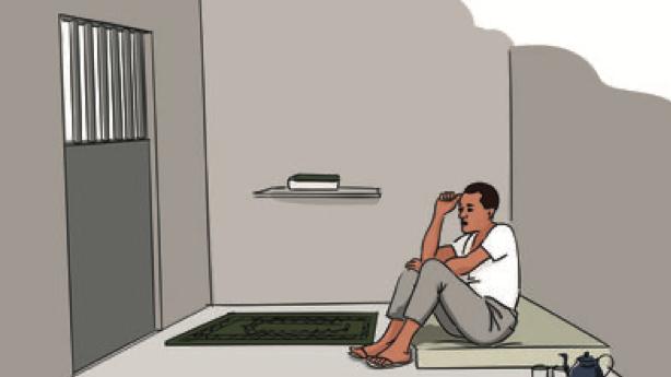 Mohammed, blogueiro mauritano, foi encarcerado por apostasía © Nikita Gavrilovs/Amnesty International