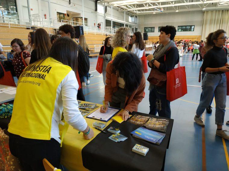 Amnistía Internacional en La Universidad de La Rioja