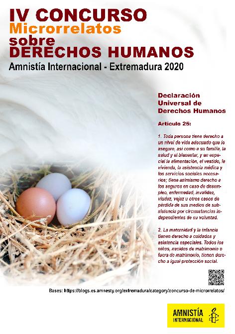 IV Concurso de Microrrelatos sobre Derechos Humanos
