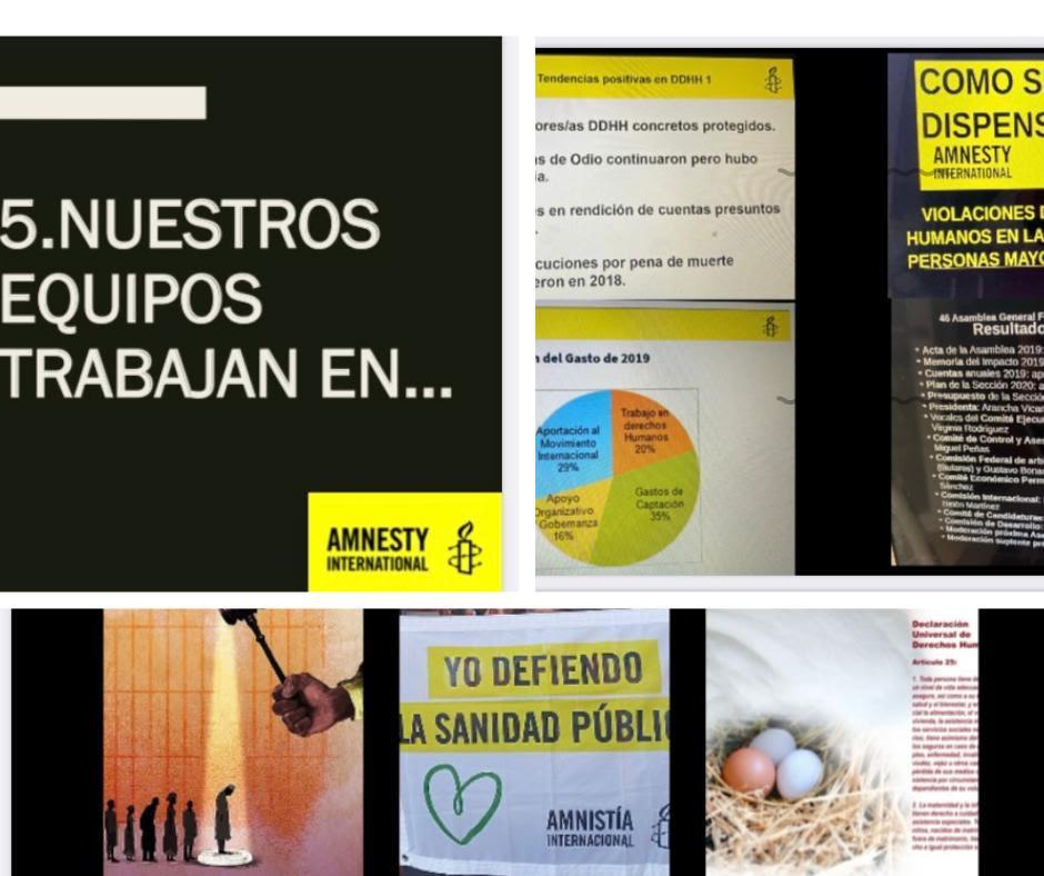 24/10/2020REUNIÓN DE LA ENTIDAD AUTONÓMICA DE AMNISTÍA INTERNACIONAL EXTREMADURA