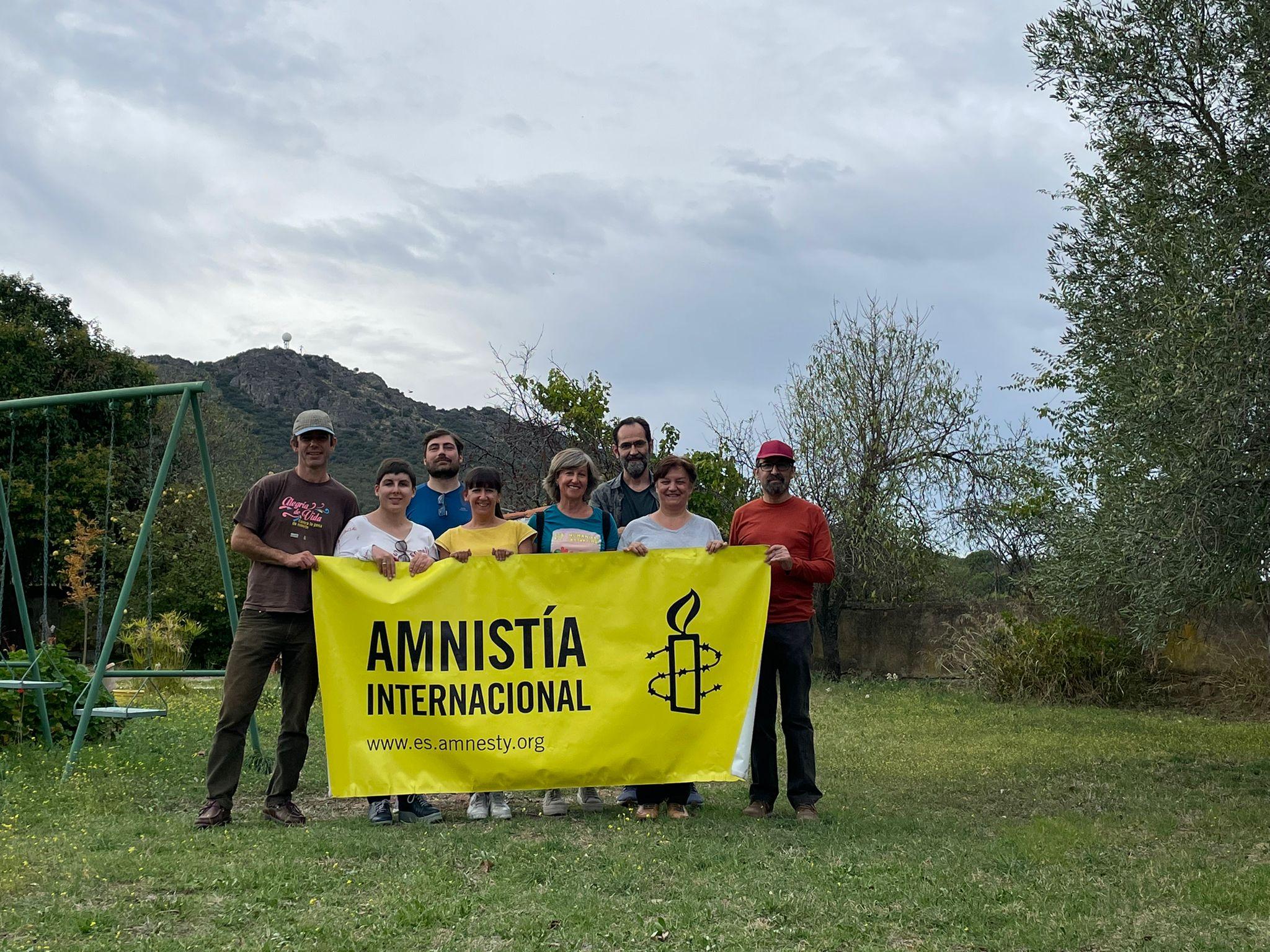 Reunión de Amnistía Internacional Extremadura