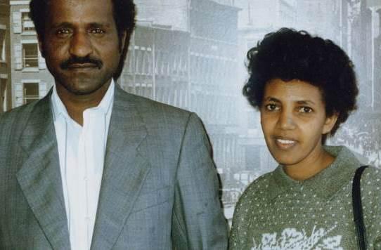 Mahmoud Ahmed Sherifo i Aster Fissehatsion, pares de l'Ibrahim