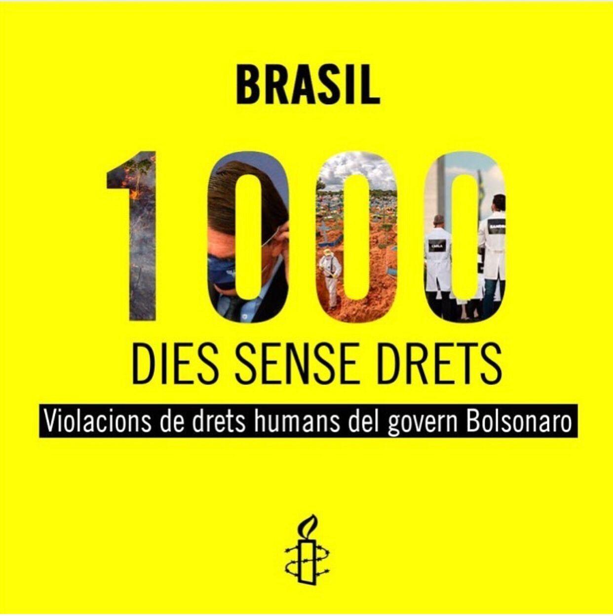 1.000 dies de Bolsonaro al Brasil: 1.000 dies sense drets