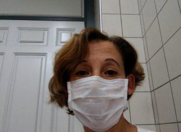 Marisa Fernández, limpiadora de un hospital de la Comunidad de Madrid