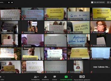 Homenaje a los 43 de Ayotzinapa