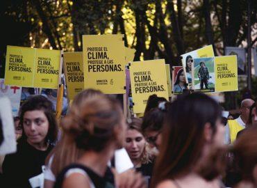 Manifestación por el clima en Madrid