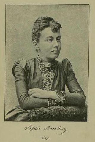 Retrato de Sofia Kovalevskaya