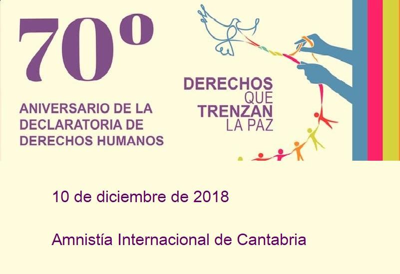 Conmemoración  del 70 Aniversario de la Declaración Universal de los Derechos Humanos