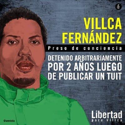 CONDENADO POR UN TUIT EN VENEZUELA