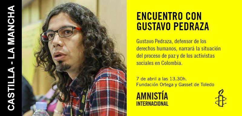 Encuentro con Gustavo Pedraza