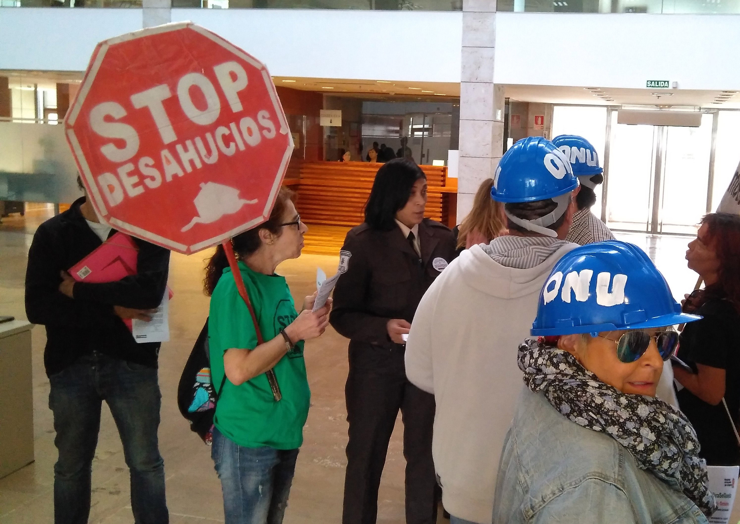 El desahucio de Safira Sánchez, de llevarse a cabo, incumpliría medidas cautelares dictaminadas por Naciones Unidas y no debe realizarse