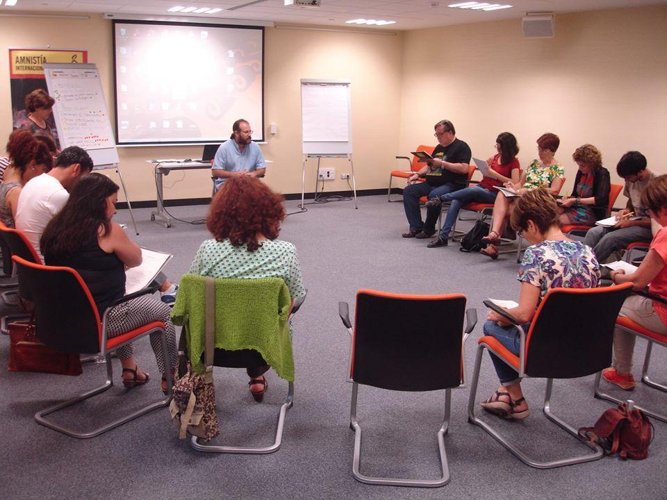 Amnistía Internacional Jaén se reúne con otras organizaciones en la parroquia san Juan Bosco de Jaén