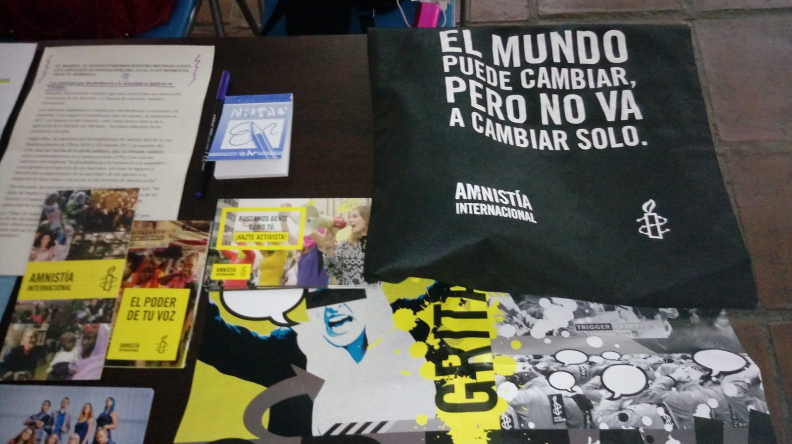 El grupo local de Córdoba en la Facultad de Filosofía y Letras