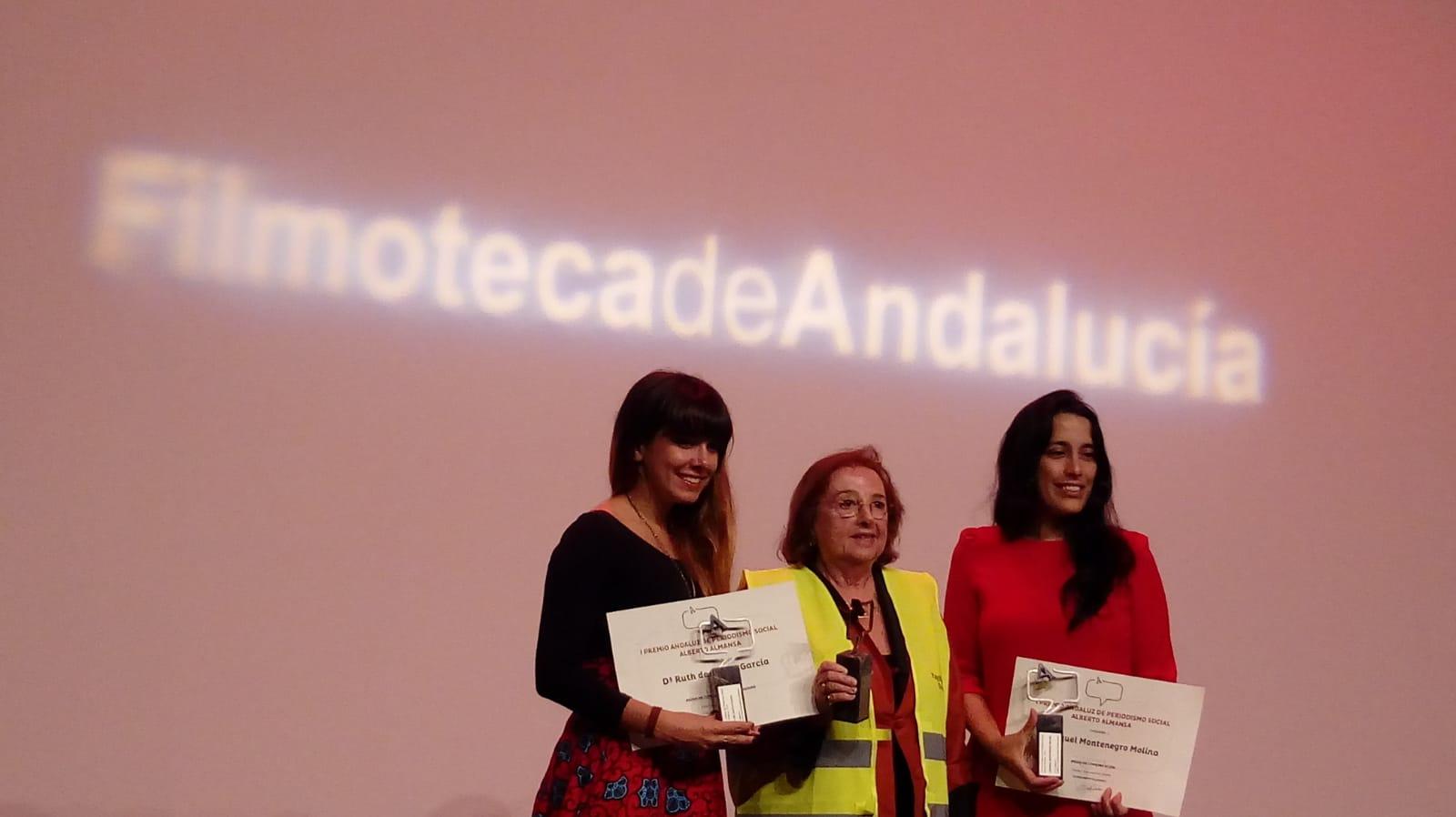 Ruth de Frutos, premio Alberto Almansa