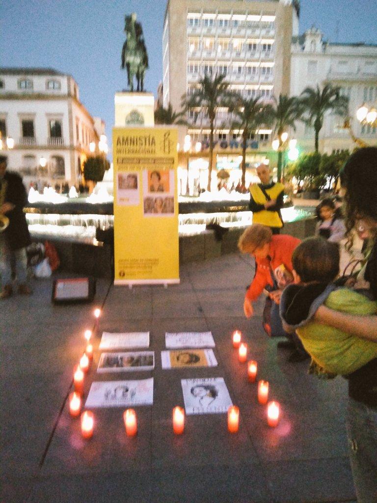 Córdoba-Acto en memoria de Marielle Franco