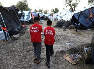 Campo refugiados Moria 17 setiembre 2018