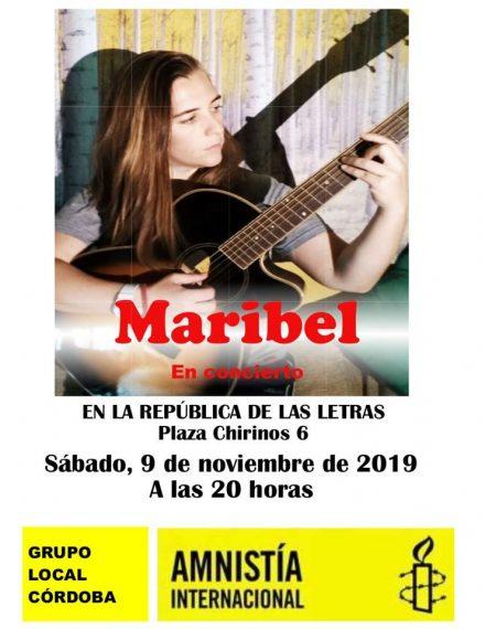 Concierto de Maribel en La República de las Letras