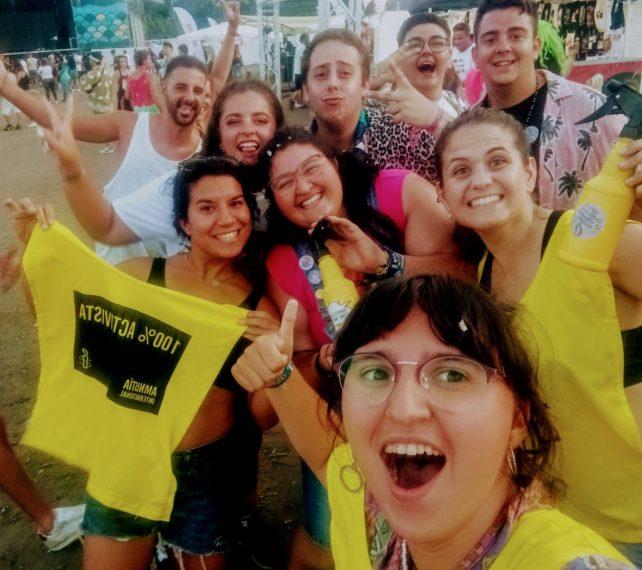 Activistas de AIA